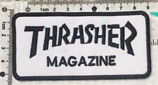 Embroidered Patch Iron Sew Logo VANS off the wall skateboard thrasher santa cruz