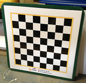 WALL MOUNTED HEAVY DUTY OUTDOOR MAGNETIC BOARD GAMES CHOICE OF GAMES & COLOURS