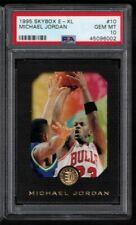 1995 Skybox E-XL Michael Jordan PSA 10 Gem Mint #10 Graded Card HOF Bulls 95 MVP