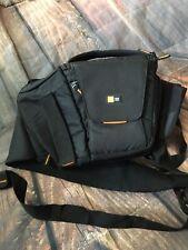 Case Logic SLRC - 205 Camera Case Sling Bag Black Orange Accents