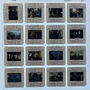 16 Lemony Snicket's 35mm Slides Series Unfortunate Events Movie Press Kit Lot #1