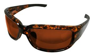 Bimini Bay Polarized Sunglasses T-BB4-A Amber Lens Fishing Beach Outdoors