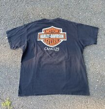New listing Vintage 90s Mens Harley Davidson Cancun Mexico Graphic T-Shirt Size Xl