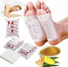100X Fusspflaster Entgiftung Bambus Foot Pads Vitalpflaster Entschlackung Detox-