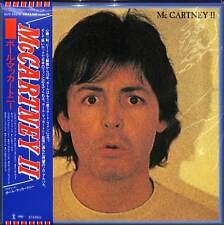 PAUL MCCARTNEY-MCCARTNEY II-IMPORT LP WITH JAPAN OBI Ltd/Ed J50