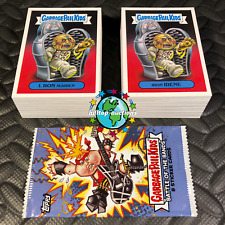 2017 GARBAGE PAIL KIDS BATTLE OF THE BANDS 180-CARD COMPLETE BASE SET +WRAPPER!