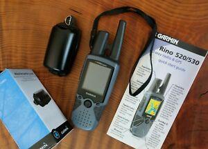 Garmin Rino 520HCx Handheld GPS Navigator.  Tested; works great!