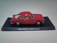 VOITURE 1/43 SOLIDO ALFA ROMEO GIULIETTA SPRINT COLLECTION ITALIENNE IT6