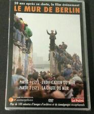 LE MUR DE BERLIN / PARTIE 1 L'EDIFICATION - PARTIE 2  LA CHUTE // DVD