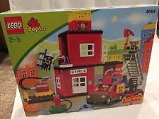 NEW Lego Duplo #4664 Fire House - Lego Ville -  NSIB