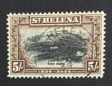 MOMEN: ST HELENA SG #122 1934 USED £100 LOT #5021