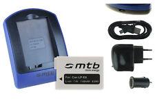 Chargeur+Batterie (USB) LP-E8 pour Canon EOS Rebel T2i, T3i, T4i, T5i