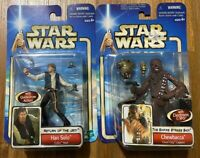 Star Wars Endor Raid HAN SOLO & Cloud City Capture CHEWBACCA Figures