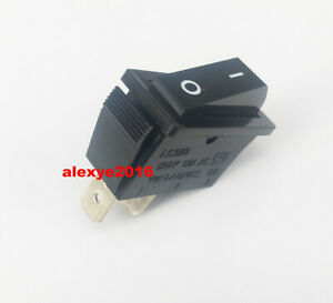 1 PCS WINTRONICS CO LS320 Rocker Switch 120V AC 12A 2 Pins 2 Positions Black