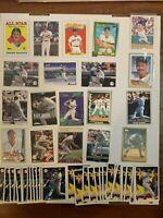 Wade Boggs 61 Card Lot Topps Upper Deck. Yankees Red Sox Rays 1988-2000 HOF