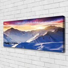 Leinwand-Bilder Wandbild Canvas Kunstdruck 125x50 Gebirge Landschaft