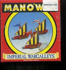 Man-o-war imperial Wargalleys warhammer fantasy naval game box in shrink