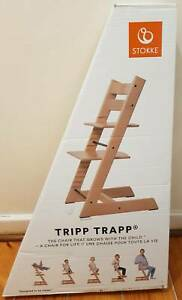 Brand New Stokke Tripp Trapp High Chair - Natural Colour