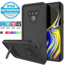 For Samsung Note 9 8 Waterproof Shockproof Case Cover Screen Protector Kickstand
