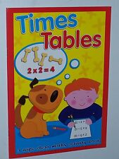 Learning Times Tables Wipe Clean Maths Activity Children's Book