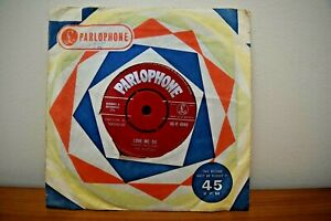 """The Beatles Love Me Do/P.S. I Love You  - 7"""" 1962 1st Press Red Label 45-R 4949"""