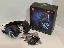 Phoinikas Gaming Headset Microphone Mobile Tablets Laptops Cable USB Jack Lights