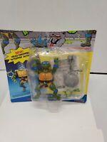 Headdroppin' Leo  Carded 1991 TMNT Playmates Ninja Turtles Vintage read