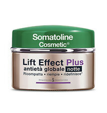 Somatoline Produit De Beauté Crème Pour Le Visage Anti-âge Nuit Lift Effet Plus