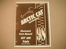 1998 Arctic Cat EXT 600 Triple Parts Manual