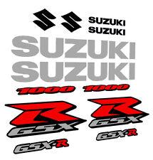 KIT ADESIVI SUZUKI GSX-R 600 750 1000 adesivo moto