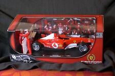 Hot Wheels Racing 1:18 FERRARI F1 Constructors' World Champions 2003 Schumacher
