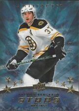Patrice Bergeron Boston Bruins 2008-09 UD Artifacts Hockey Starrs /75