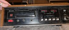 Sharp RT-811E 8 track player recorder