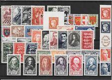 FRANCE ANNEE COMPLETE 1949 DU N° 823 AU N° 862 NEUF SANS CHARNIERE+++++++24,95€+