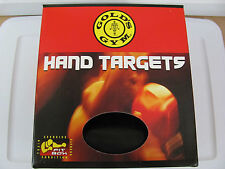 New Pair (1 Left 1 Right) Gold's Gym Mma Boxing Hand Targets Velcro Lock Ght02