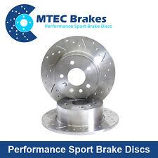 Suzuki Swift mk2 1.6 VVT 05-10 Sport Rear MTEC Drilled & Grooved Brake Discs