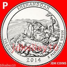 2014 P - SHENANDOAH NATIONAL PARK - VIRGINIA - QUARTER UNCIRCULATED US MINT