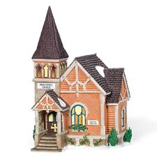 "Dept.56 New England Village ""Providence Church"" ~ Retired ~ Great Detail!"