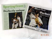 MATT CAIN SAN FRANCISCO GIANTS 6/14 CHRONICLE NEWSPAPER