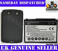 EXTENDED 3500mAh NEW D-X1 BATTERY FOR BLACKBERRY 8900 CURVE WITH FREE BACK COVER