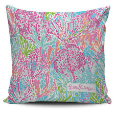 Print Lets Cha Cha Lilly Pulitzer Pillow Cover Cushion Case Home Decor
