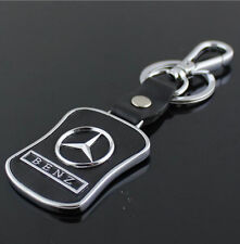 Auto Car keychain key chain holder leather Metal for Mercedes Benz A B C E S AMG