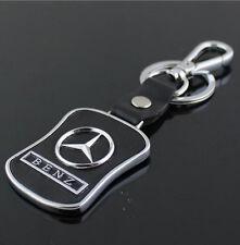 Auto Schlüsselanhänger Leder Metal für Mercedes Benz B C E S AMG