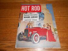 AUGUST 1951 HOT ROD VINTAGE ORIGINAL MAGAZINE Vol. 4 No. 8, GOOD, AUG. '51