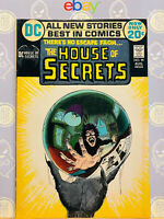 House of Secrets #99 F/VF By Mike Kaluta 1972 Bronze Age DC Comics Key Issue
