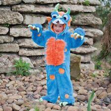 Childrens aterrador monstruo azul niños nuevo Día Mundial Del Libro Disfraz 3-5yrs