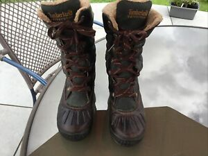 Earthkeepers Timberland Waterproof Fur Lined  Boots.