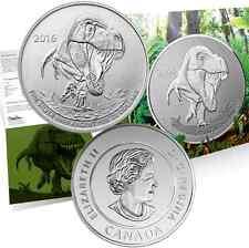 TYRANNOSAURUS REX COIN $20 Pure Silver 2016