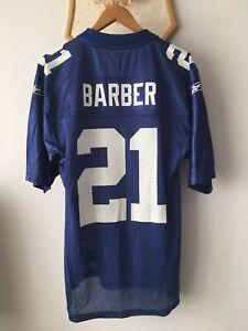 NEW YORK GIANTS NFL JERSEY SHIRT TRIKOT REEBOK ORIGINAL TIKI BARBER #21 MEN S