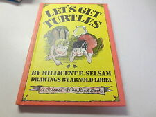 Let's Get Turtles by Millicent E. Selsam drawings by Arnold Lobel An I Can Read